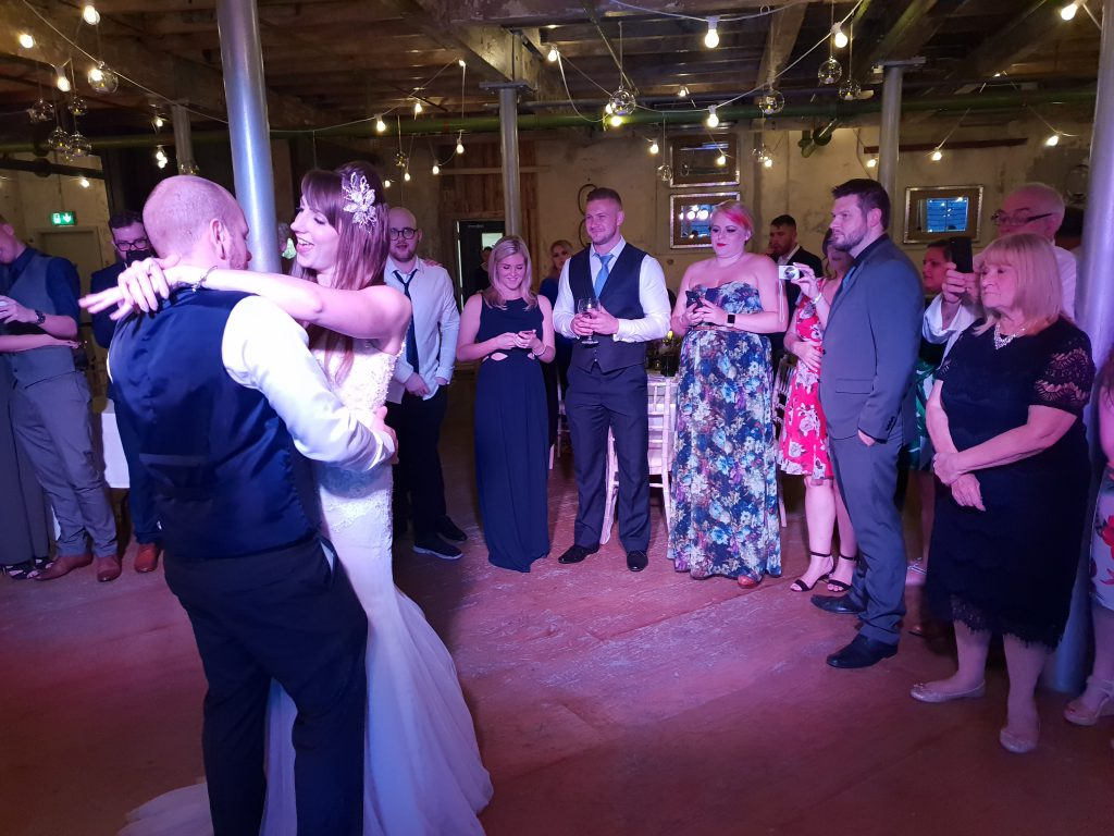 wedding dj holmes mill clitheroe