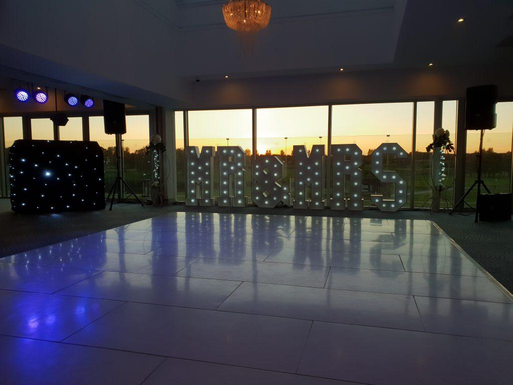 wedding dj hurlston hall