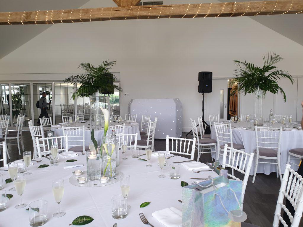 wedding dj glass house