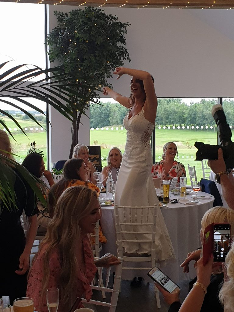 wedding host glass house