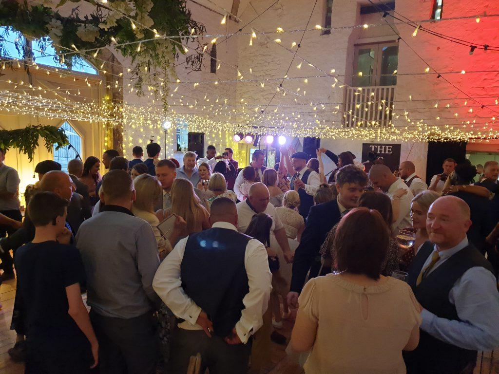 wedding disco wyresdale