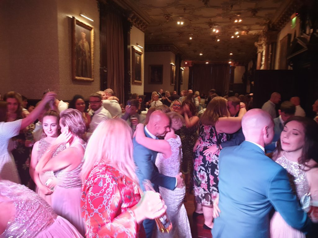 crewe hall wedding dj