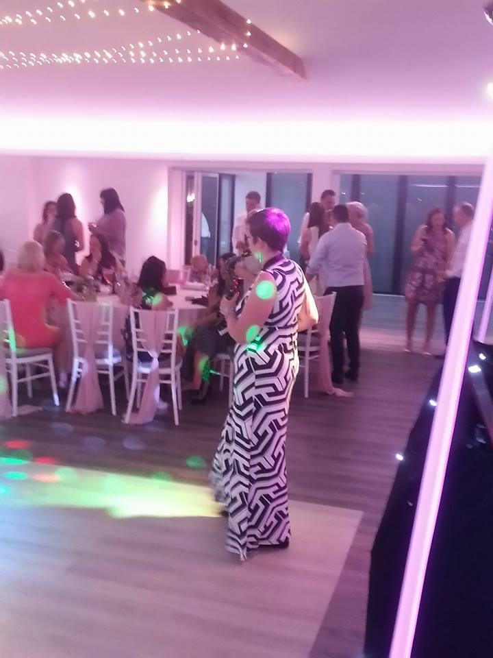 saxophonist wedding