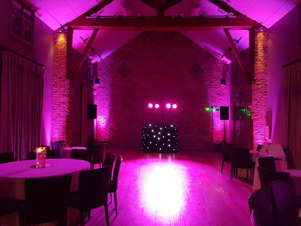 Arley Hall wedding dj