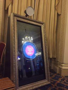 selfie mirror hire