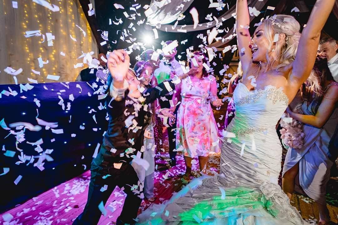 wedding dj rivington hall barn