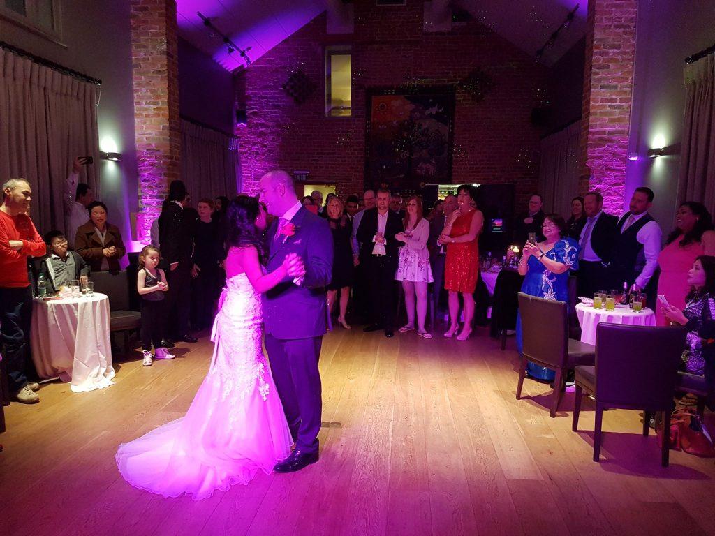 arley hall wedding dj cheshire