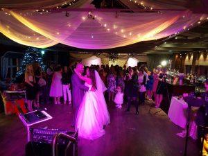 wedding entertainment bartle hall