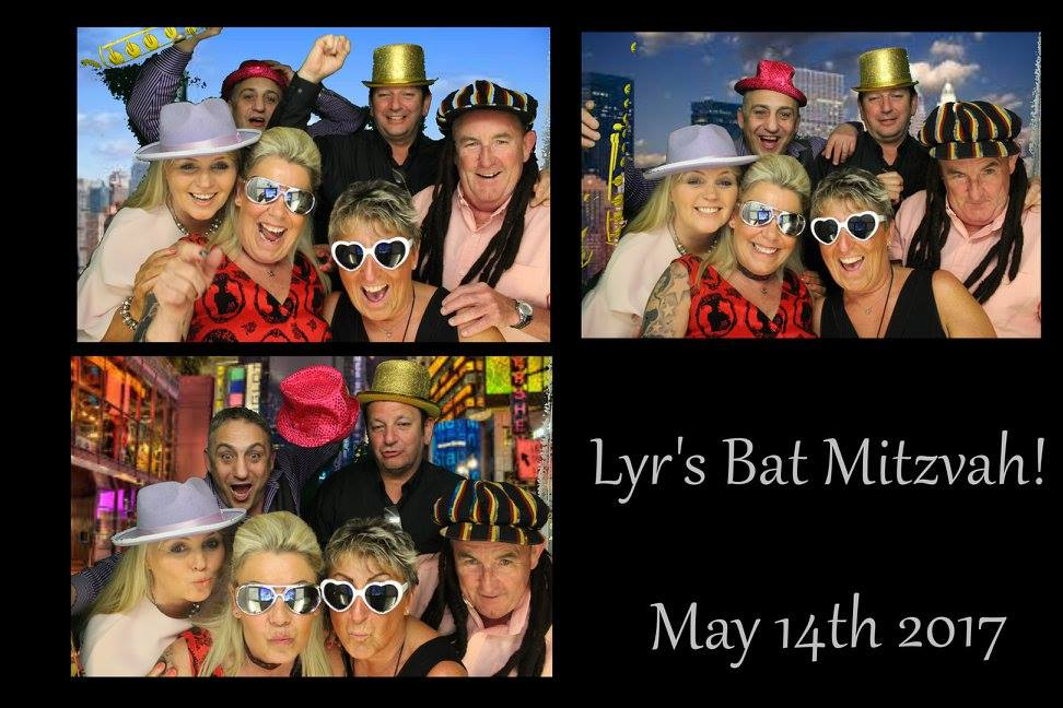 photo booth hire bat mitzvah manchester
